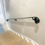 Wall attached grip rail